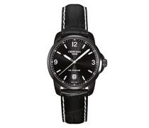 Armbanduhr XL Analog Quarz Leder C001.410.16.057.02