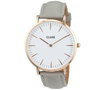 Damen-Armbanduhr Analog Quarz Leder CL18015
