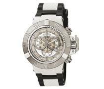 0924 Subaqua - Noma III Uhr Edelstahl Quarz weißen Zifferblat