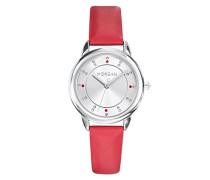 Damen Analog Quarz Uhr mit Leder Armband M1256R