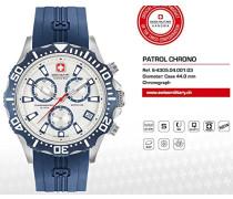 SWISS MILITARY-HANOWA Analog Quarz Uhr mit Silikon Armband 06-4305.04.001.03