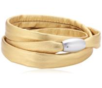 Damen Armband Edelstahl Leder 51607547G3