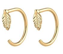 Damen-Ohrhänger Feder 925 Silber - 0302942717
