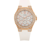 Damen-Armbanduhr Analog Quarz Silikon W16577L1