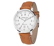 Armbanduhr SORRENTO Analog Quarz Leder R0151128009