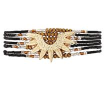Damen-Manschetten Armbänder Edelstahl E18MMARLBLK