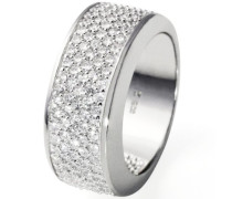 Ring PremiumShine 925 Sterlingsilber 118 Steine