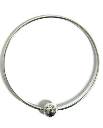 Armreif Essence mit Kugelverschluss 925 Silber 18 cm-596006-18