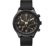 Analog Quarz Uhr mit Leder Armband TW2R54900