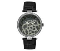 Damen-Armbanduhr Analog Quarz Leder CLD 001S-AA