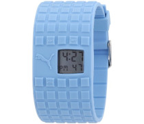 Puma Armbanduhr Cell Blue Digital Quarz A.PU910832003