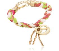 Damen-Armband Messing Tricolor Brezn 2603