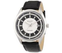 Armbanduhr XL Analog Automatik Leder 11050072