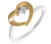 Mädchen-Ringe 925_Sterling_Silber zirkonia '- Ringgröße 50 (15.9) zr-7370/50 G