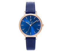 Damen Analog Quarz Uhr mit Leder Armband 092L966