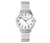 Herren-Armbanduhr Analog edelstahl Silber 3751.27