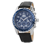 Datum klassisch Automatik Uhr mit Leder Armband BM302a-132