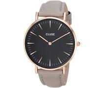 Damen-Armbanduhr Analog Quarz Leder CL18018