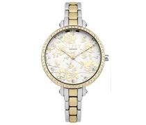 Datum klassisch Quarz Uhr mit Aluminium Armband LP568