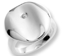 Ring 925 Sterling Silber mit Zirkonia weiss