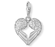 Charm-Anhänger Herz Flügel Charm Club 925 Sterling Silber 0613-001-12
