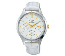 Damen-Armbanduhr Analog Quarz Leder PP6227X1