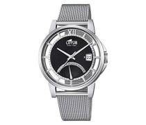 Analog Uhr mit Edelstahl beschichtet Armband 18326/2