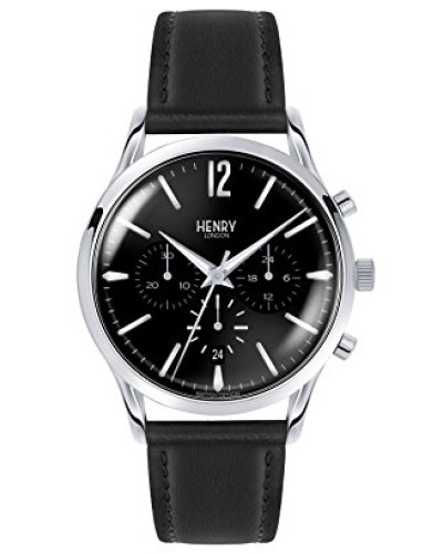 Armbanduhr Edgware Chronograph Quarz Leder HL41-CS-0023