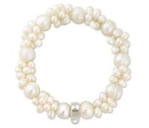 Damen-Armreifen Künstliche Perle X0060-082-14-S