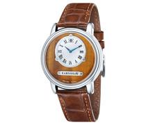 Erwachsene Armbanduhr Analog Quarz Leder ES-0027-02