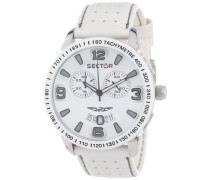 Armbanduhr XL 400 Chronograph Leder R3271619001