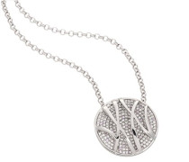 Kette High-End Micro Pave Silber 45cm ZH-4473