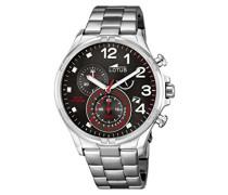 Herren-Armbanduhr Analog Quarz Edelstahl 10126/2