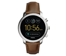 Armbanduhr Q Explorist Smartwatch Leder FTW4003