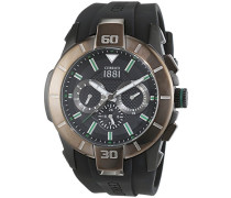 Armbanduhr XL FANO Analog Quarz Silikon CRA097F224G