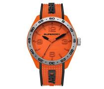Analog Quarz Uhr mit Silikon Armband SYG213O