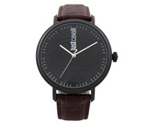Analog-Digital Quarz Uhr mit Leder Armband JC1G012L0045