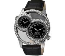 Damen-Armbanduhr Analog Leder EL101212F01
