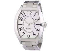 Collection Armbanduhr hector silver Analog Quarz Edelstahl EL101081F05