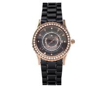 Armbanduhr Analog Quarz Premium Keramik Diamanten - STM15Z4