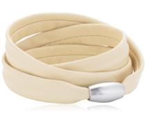 Damen Armband Edelstahl Leder 51607524G2