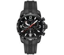 Armbanduhr XL Chronograph Quarz Kautschuk C001.639.17.057.00