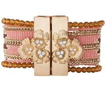 Damen-Manschetten Armbänder Edelstahl E18LETERPI