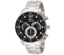 Herren-Armbanduhr Analog Quarz Edelstahl 10120/4