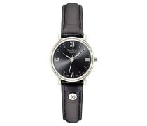Bruno Söhnle Analog Quarz Uhr mit Leder Armband 17-13045-871