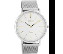 Digital Quarz Uhr mit Edelstahl Armband C7386