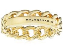 Ring 925 Silber gelb vergoldet 60 (19.1) - Y2139R/90/00/60