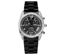 Armbanduhr Analog Quarz Premium Keramik Diamanten - STM15F2