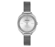 Datum Norm Quarz Uhr mit Edelstahl Armband MG 003S-FMM