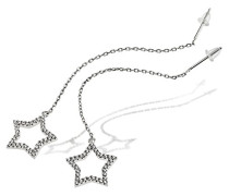 Ohrringe like a star 925 Sterlingsilber 70 klare Zirkonia Schmuck